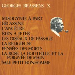 Georges Brassens X (N°12) Misogynie à part